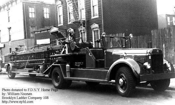 Ladder Company 108 Brooklyn FDNY
